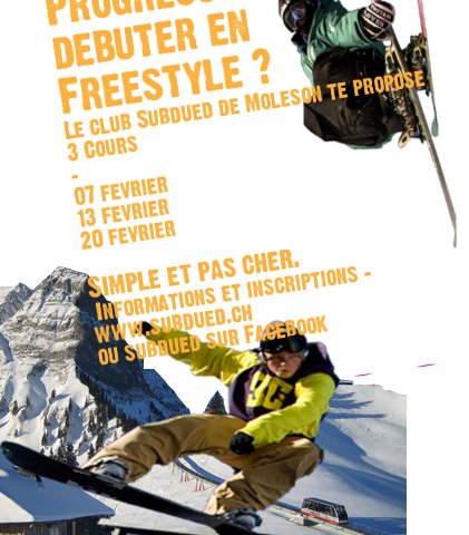COURS FREESTYLE !